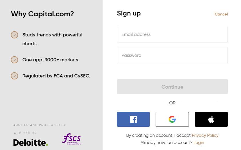 capital.com open account