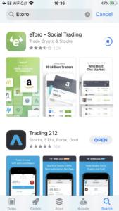 eToro stock app Australia download - best trading platform australia
