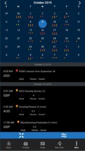 Oanda Economic Calendar
