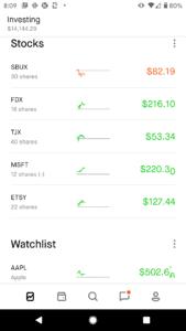 Robinhood app review stock assets