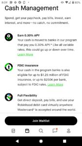 Robinhood app review account types
