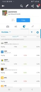 eToro app copy trading