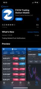 FXCM Download App Store