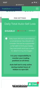 Daily Auto Sell Loss Trade Zero
