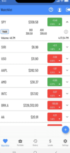 TradeZero stocks mobile