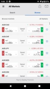 Forex.com app forex market assets