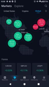 Webull global stock markets