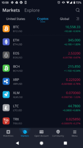 Webull cryptocurrency trading