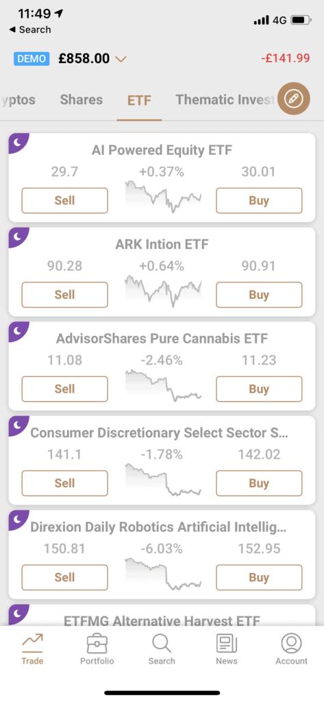 capital.com app etf view