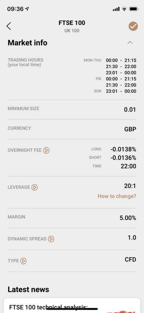 Capital.com Sell FTSE