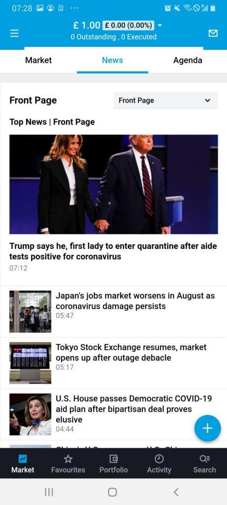 Degiro news