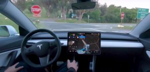 Tesla Self Driving Car