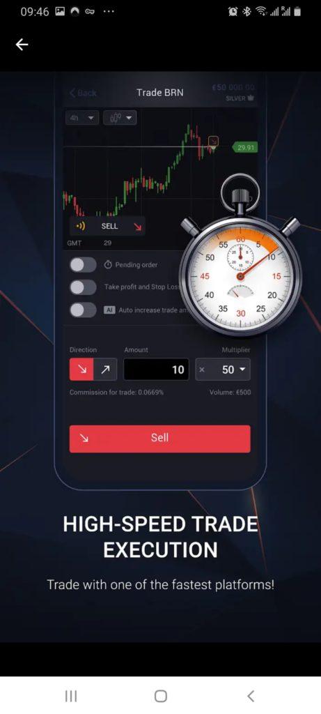 Libertex high speed execution