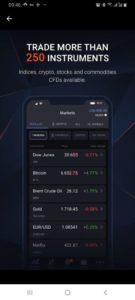 Markets to trade on Libertex