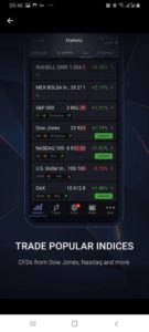 Trade Stocks on the Libertex app