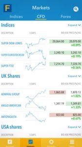Fineco App Markets