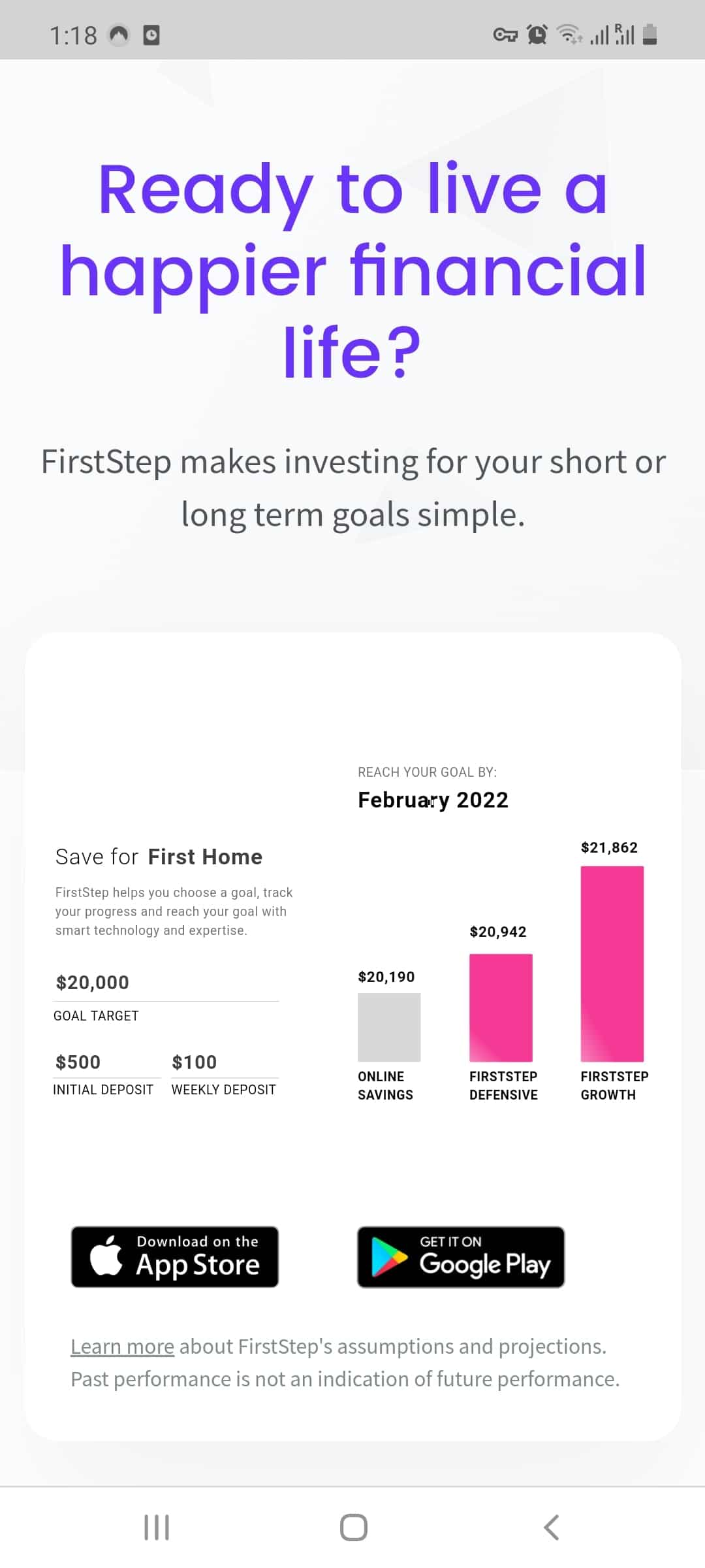firststep micro investing review