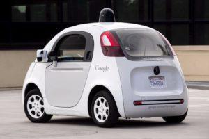 Google Waymo vehicle