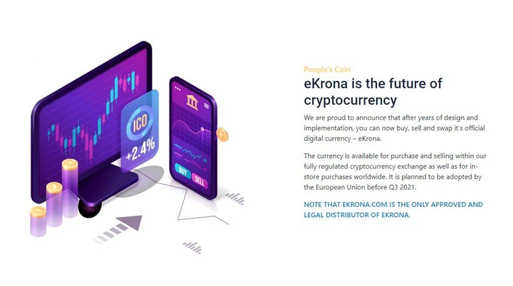 Ekrona Cryptocurrency Future